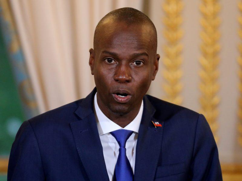 Haityje dėl J. Moise'o nužudymo suimtas prezidento apsaugos vadovas