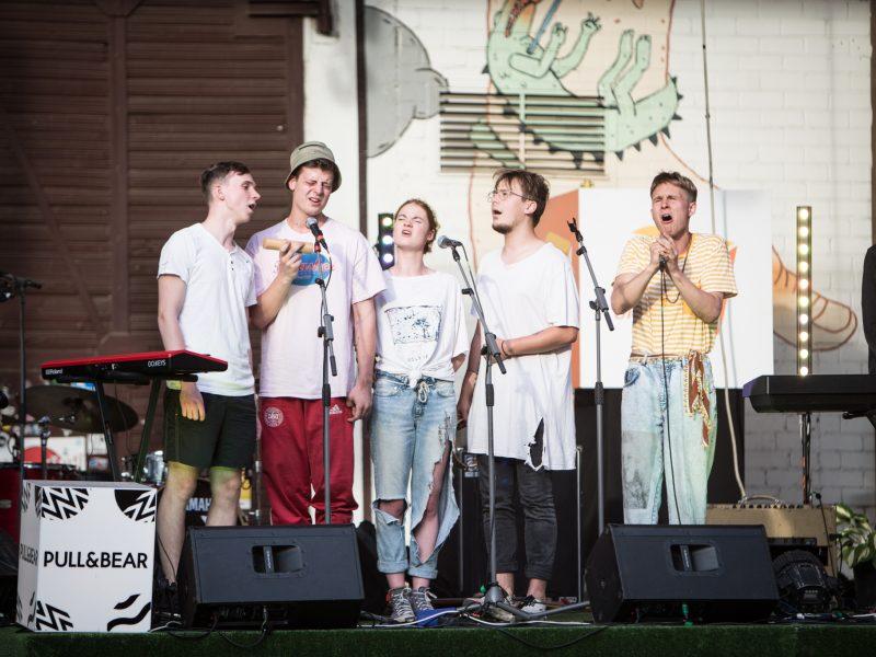 """Tarptautinis jaunų grupių konkursas """"Novus"""""""