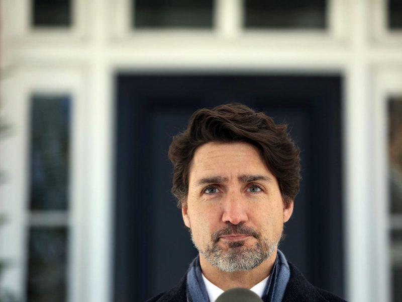Kanados premjeras tikisi, kad šalies piliečiai jau šią vasarą galės laisvai keliauti