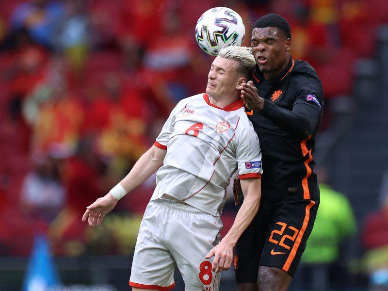 Europos futbolo čempionatas: Šiaurės Makedonija–Nyderlandai 0:3