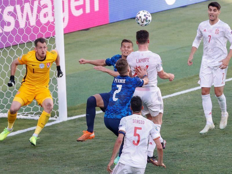 Europos futbolo čempionatas: Slovakija–Ispanija