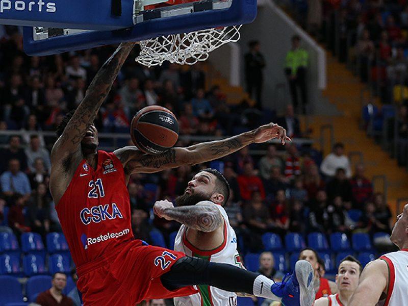 Eurolygoje – CSKA pergalė ir M. Kuzminsko ekipos nesėkmė