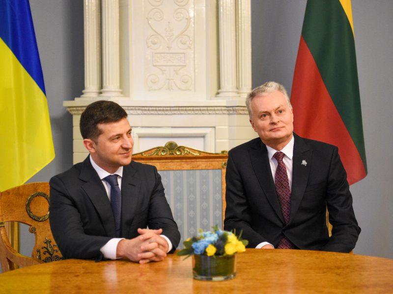 G. Nausėda: Lietuvos ir Ukrainos pozicijos dėl situacijos Baltarusijoje sutampa