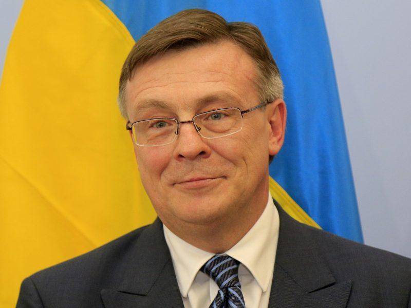 Ukrainoje sulaikytas buvęs URM vadovas, įtariamas verslininko nužudymu