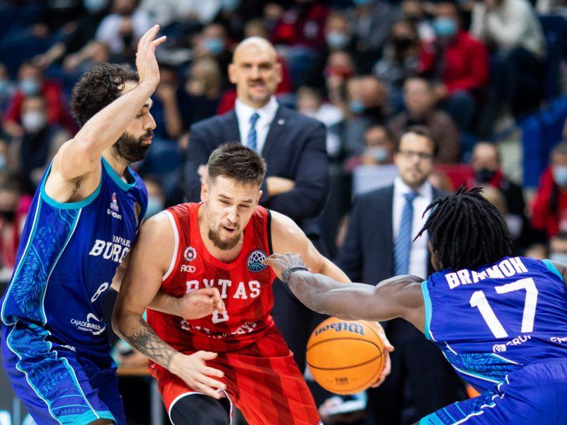 """FIBA Čempionų lyga: """"Rytas"""" – Burgoso """"CB Miraflores"""" 87:69"""