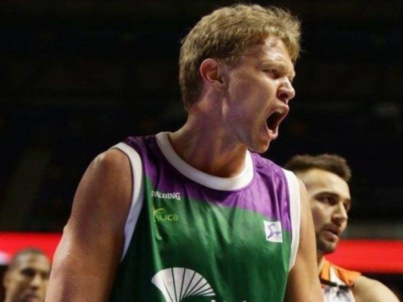 Ispanijos krepšinio lygos rungtynėse M. Kuzminskas pelnė 20 taškų