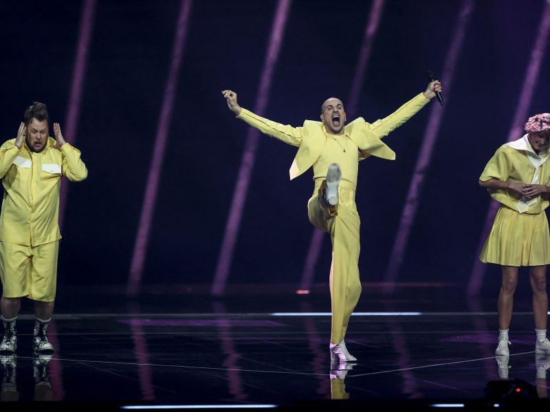 """Pirmasis """"Eurovizijos"""" pusfinalis"""