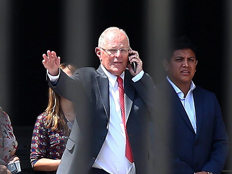 Peru teismas nusprendė, kad buvęs prezidentas P. Kuczynskis turi būti sulaikytas