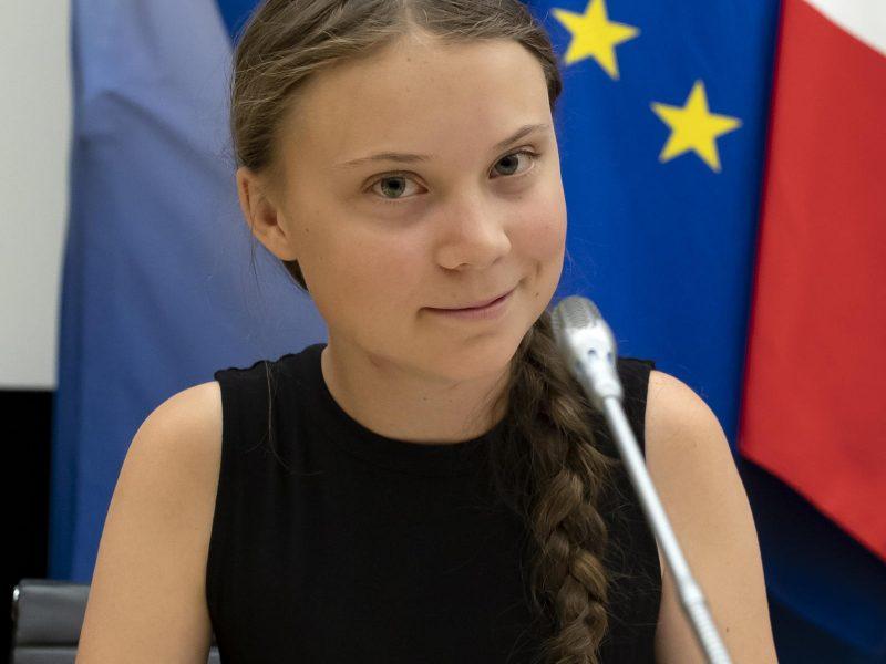 """G. Thunberg parėmė kovą prieš vakcinų nelygybės """"tragediją"""""""