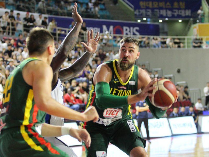 Krepšinis: Lietuva – Pietų Korėja 86:57