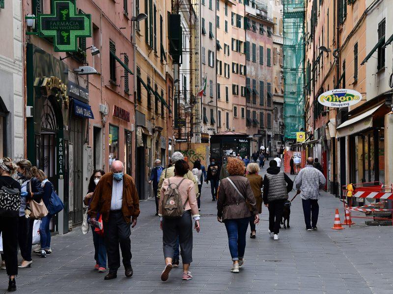 Italijoje per parą koronaviruso aukomis tapo 161 žmogus