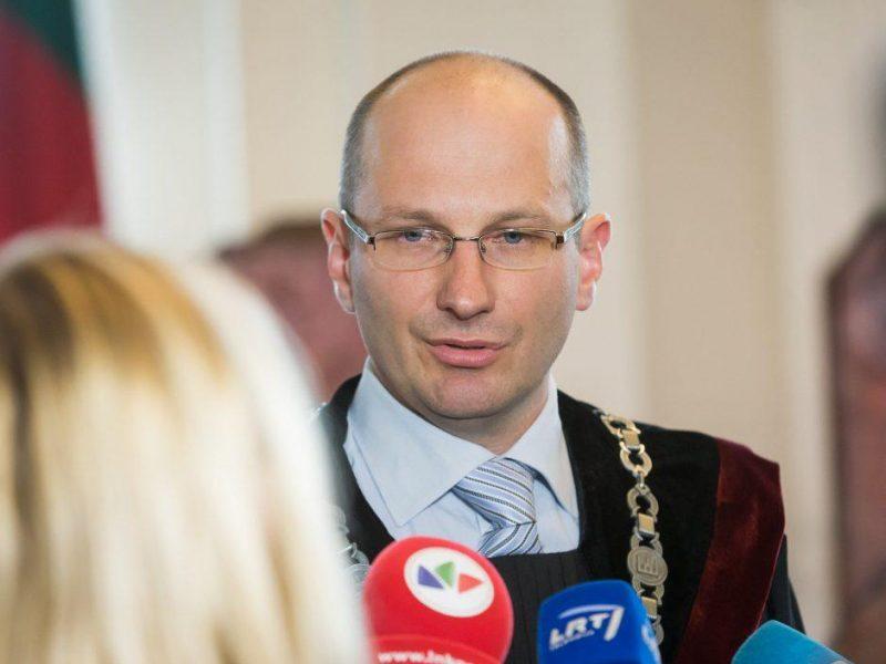 Prezidentas paskyrė E. Rimšelį Apeliacinio teismo teisėju