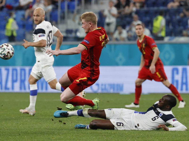 Europos futbolo čempionatas: Suomija–Belgija 0:2