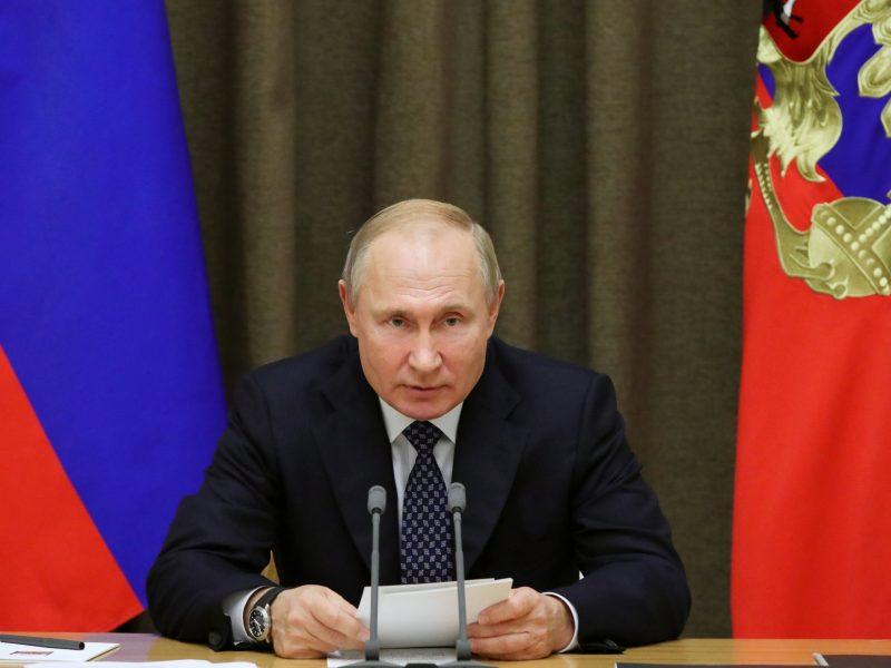 V. Putinas: Rusija pasiruošusi bendradarbiauti su NATO