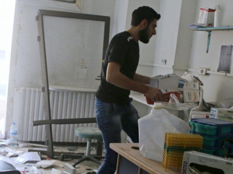 Karo alinamoje Sirijoje sveikatos sistemos padėtis – tragiška