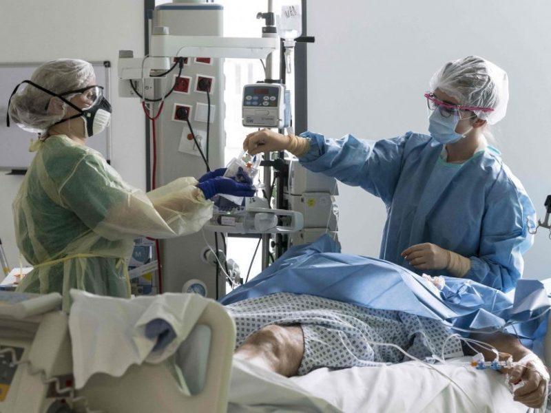 Kaune mažėjant lovų COVID-19 pacientams, pasitelkiami Prienai, Kėdainiai, Jurbarkas