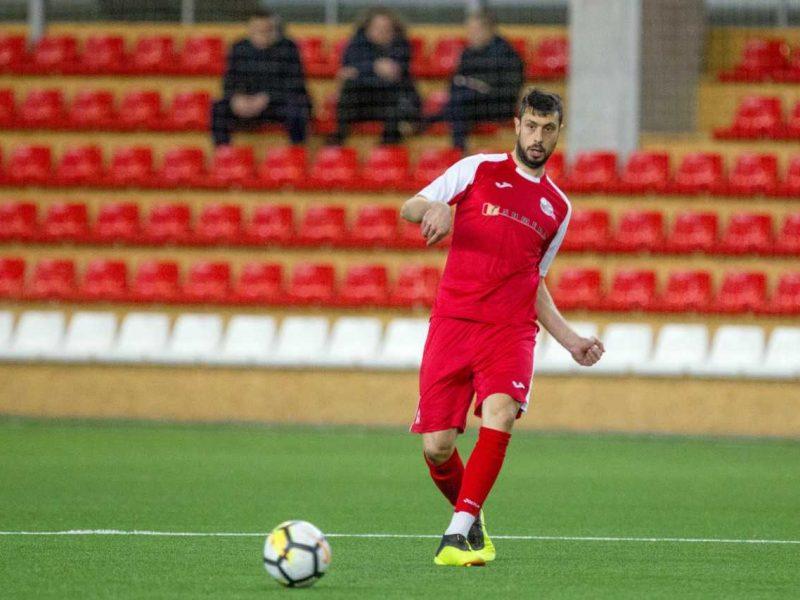 """""""Sūduvos"""" futbolininkai pralaimėjo Serbijos klubui"""