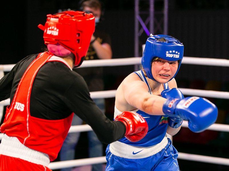 Lietuvos boksininkė G. Stonkutė liko be olimpinio kelialapio