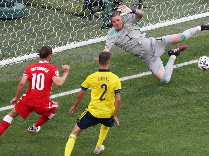 Europos futbolo čempionatas: Švedija–Lenkija