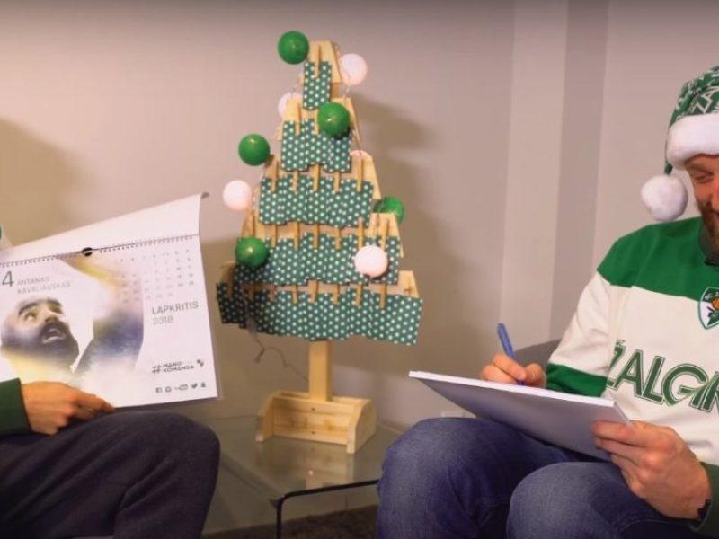 """""""Žalgirio"""" Kalėdos: kaip A. Milaknis ir K. Pangosas komandos draugams dovanas ruošė"""