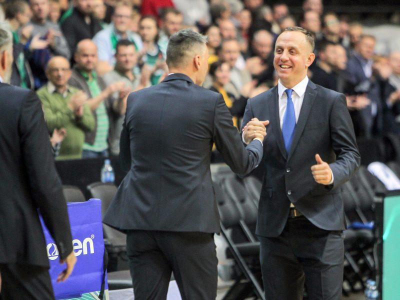 LKL klubas nutarė trenerių nekeisti