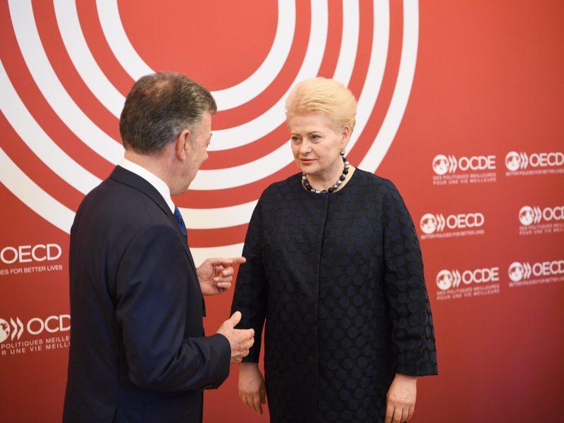 Pasirašyta Lietuvos stojimo į EBPO sutartis