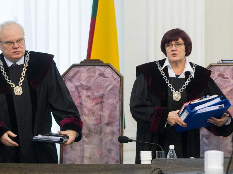 EP darbotvarkėje – Rusijos vykdomas Lietuvos teisėjų persekiojimas