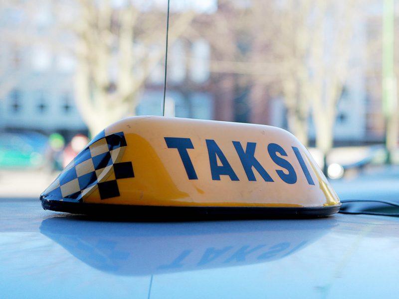 Taksistas Klaipėdoje nustebino pareigūnus