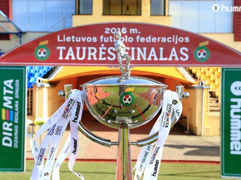 Ištraukti LFF taurės aštuntfinalio burtai