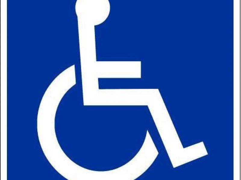 Bauda neįgaliajam – už nieką?