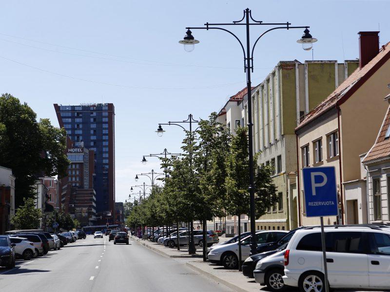 Liepų gatvėje pakeitė šviestuvus