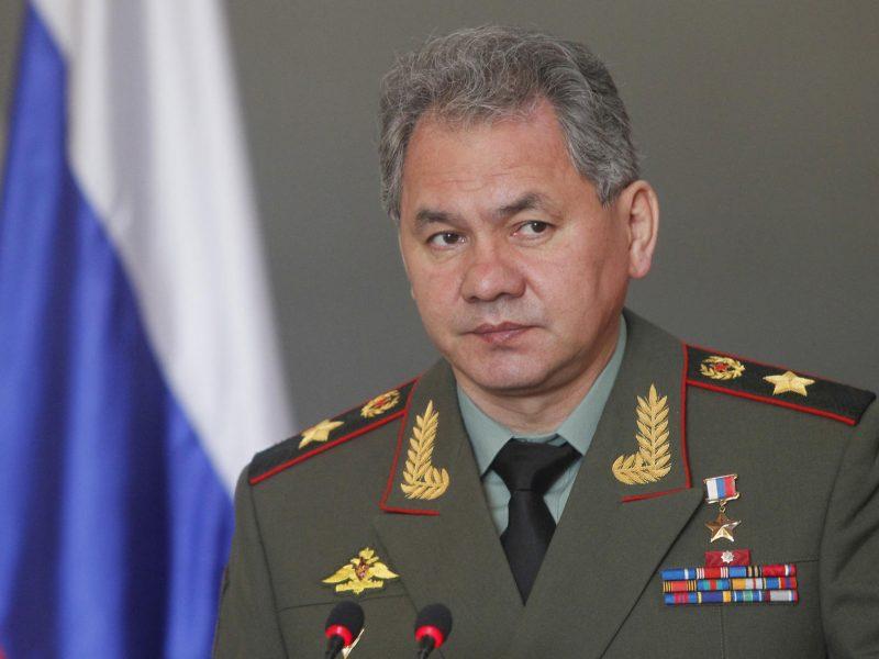 Rusų aviacija atstūmė prie S. Šoigu lėktuvo priskridusį NATO orlaivį