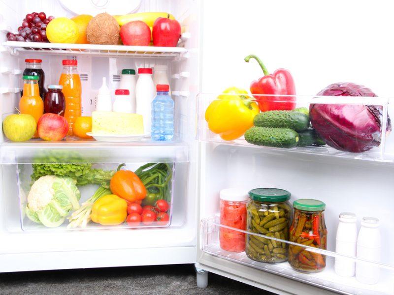 Šaldytuvo higiena: kaip išlaikyti produktus šviežius ir išnaikinti nemalonų kvapą?