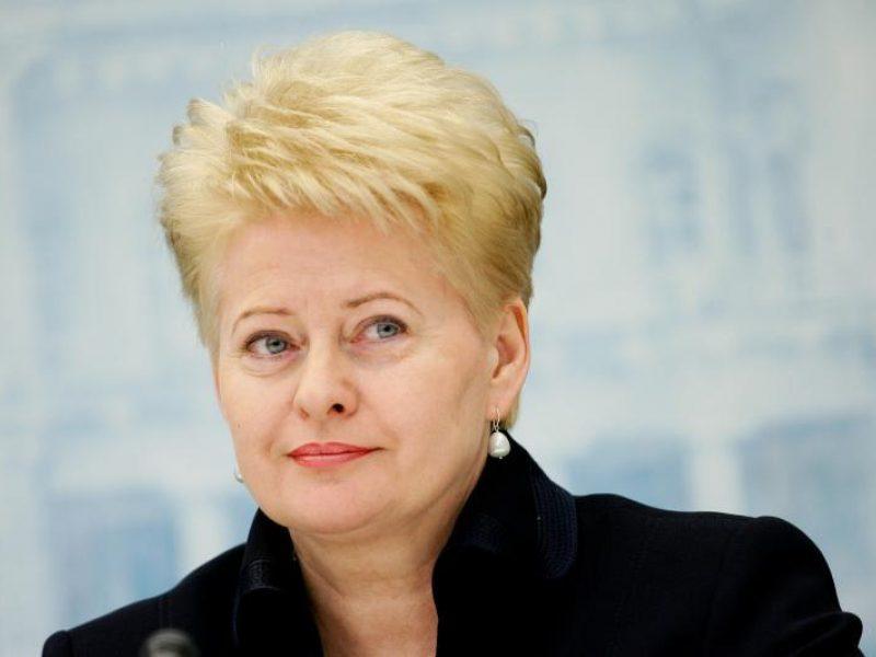 D.Grybauskaitė siūlo lygiuotis į slovakus