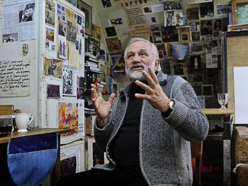 Tapybos grandas A.Vilpišauskas ir jo talentas gėrėtis gyvenimu