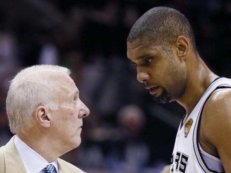 """""""Spurs"""" išleidus titulą iš rankų - kritikos strėlės G.Popovichiui"""