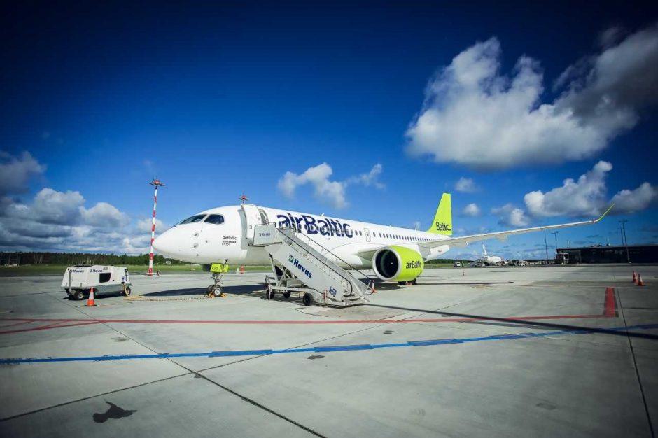 """""""airBaltic paskelbė 2021 m. vasaros kelionių tvarkaraštį"""