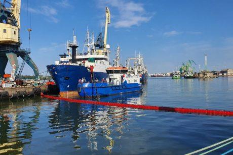 V. Grubliauskas dėl taršos jūroje pažėrė kritikos: tai pamokos, kurias reikia išmokti