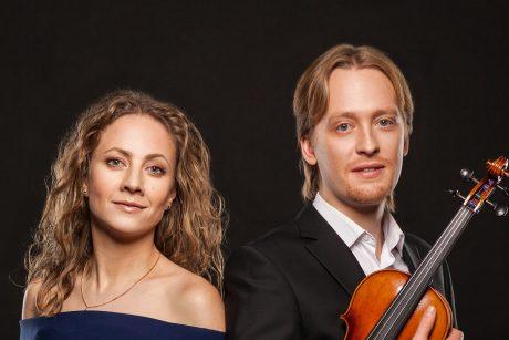 Lietuvoje koncertuos ką tik tarptautinį konkursą Taline laimėjęs klasikinės muzikos duetas