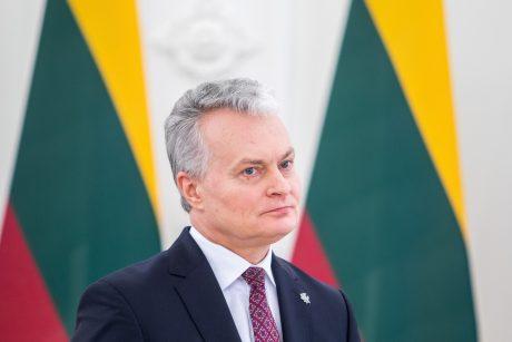 Lietuvos prezidentas ragina ES lyderius įvertinti situaciją Baltarusijoje