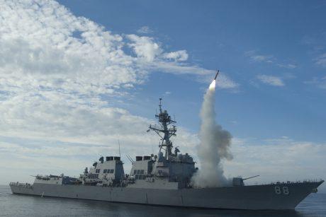 JAV už 600 mln. dolerių parduos raketų Pietų Korėjai ir Japonijai