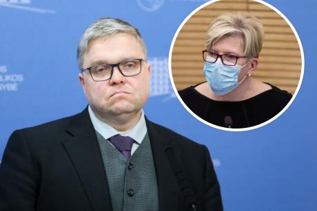 Premjerės patarėju tapo buvęs Lietuvos banko vadovas V. Vasiliauskas