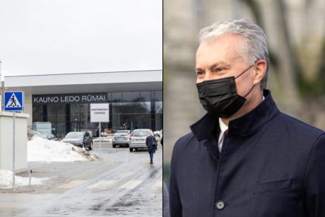 G. Nausėda lankysis vakcinavimo centre Kaune