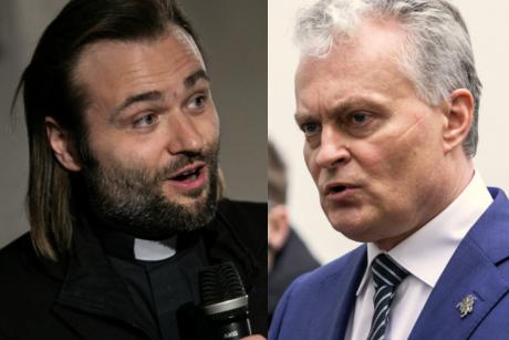 Prezidentas užstojo kunigą A. Toliatą: Lietuvoje susiformavo viešoji inkvizicija
