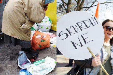 Garsiai kalbama apie gerovės valstybę, bet beveik trečdalis Lietuvos skursta