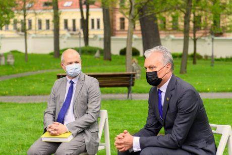Prezidentas siūlo teisėkūros iniciatyvas vertinti klimato kaitos požiūriu