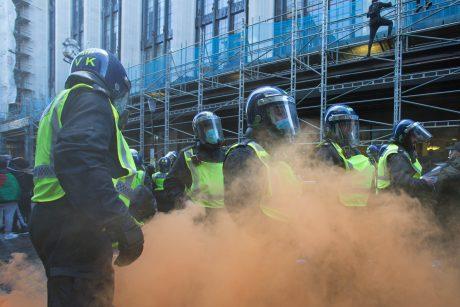 Londone dėl antisemitinių išpuolių grėsmės žydų rajonuose budės daugiau policijos