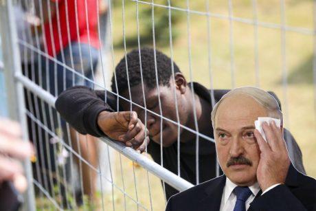 A. Lukašenka: Vakarai pasinaudodami migracija didina karinį potencialą regione