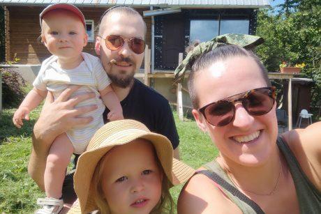 Sodo namelis virsta šeimos svajonių namais