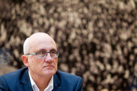 S. Jakeliūnas: nedalyvausiu ECB posėdyje, kol R. Kuodis skleis tokią leksiką